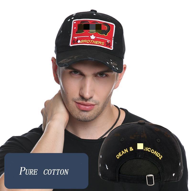 Dsqicond2 marca de alta calidad gorras de béisbol gorra camionero casquette homme for women hombres gorras plan gorras snapback gorras camionero sombreros 201026