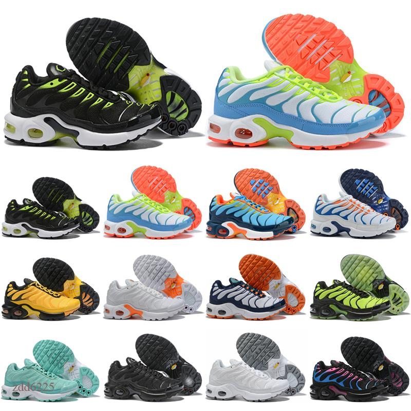 2020 Kids SneakersTn Plus TN Youth Girls Greedy Decon Boys Kids Shoes Trainers Chaussures Rainbow Blue Fury Pink Sport