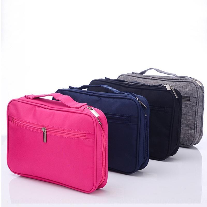 EZnAy nylon imperméable coréen de stockage bagCosmetic cosmétique de maquillage sac Brosse de stockage portable sac bagTravel 2eAnM