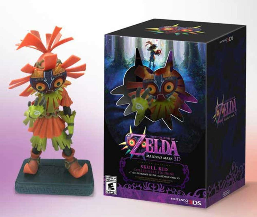 Link Zelda Legend oyunu Çevreleyen Mazura Maskesi El Yapımı Süsler