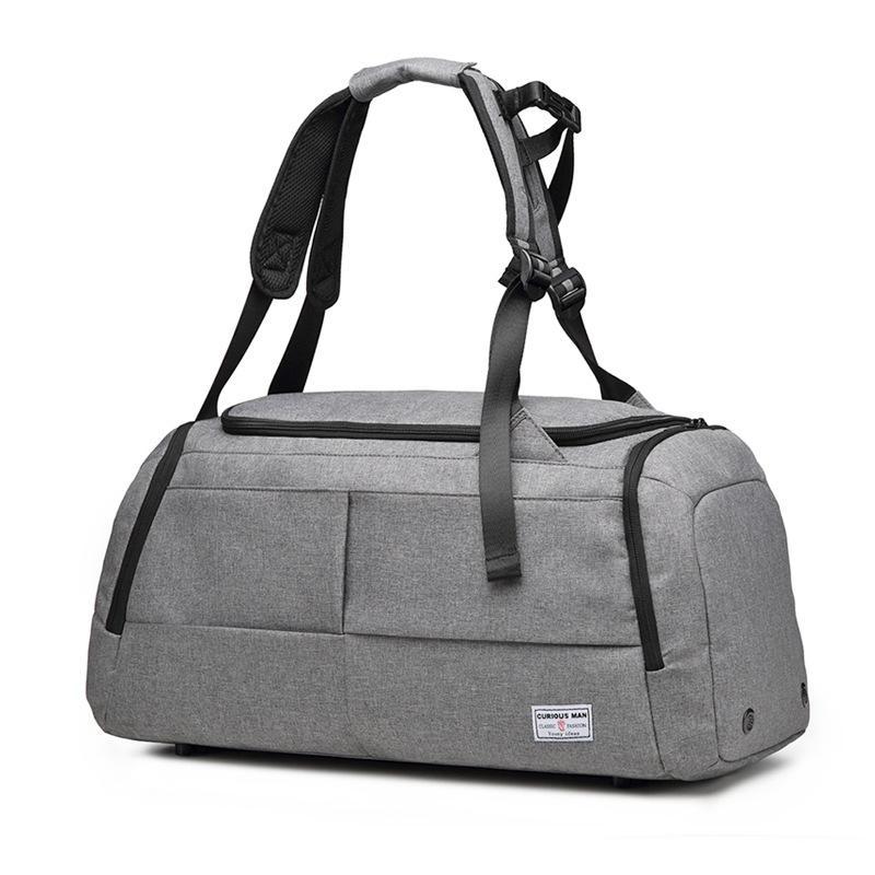 Дорожная сумка Большая емкость мешка перемещения багажа Спорт Фитнес сумка Mens Портативный пользовательского логотипа