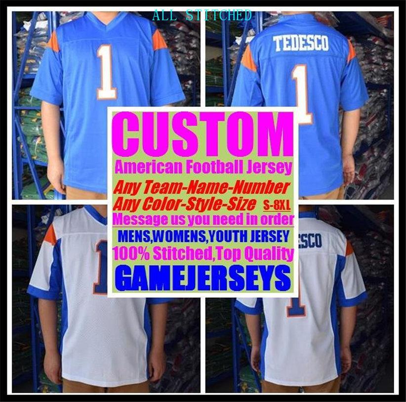 Custom BASKETBALL BASEBALL ICE HOCKEY Men Women KIDS American football Jerseys Sport Vapor Untouchable Official jersey man 4xl 5xl 6xl