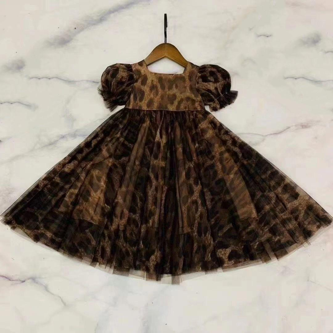 2021 NOUVEAU TRES BELLES FILLES ROBURE ENFANT ENFANT ENFANTS Filles Bébé Enfants Robe Été Outfits Vêtements Chlidres Robe