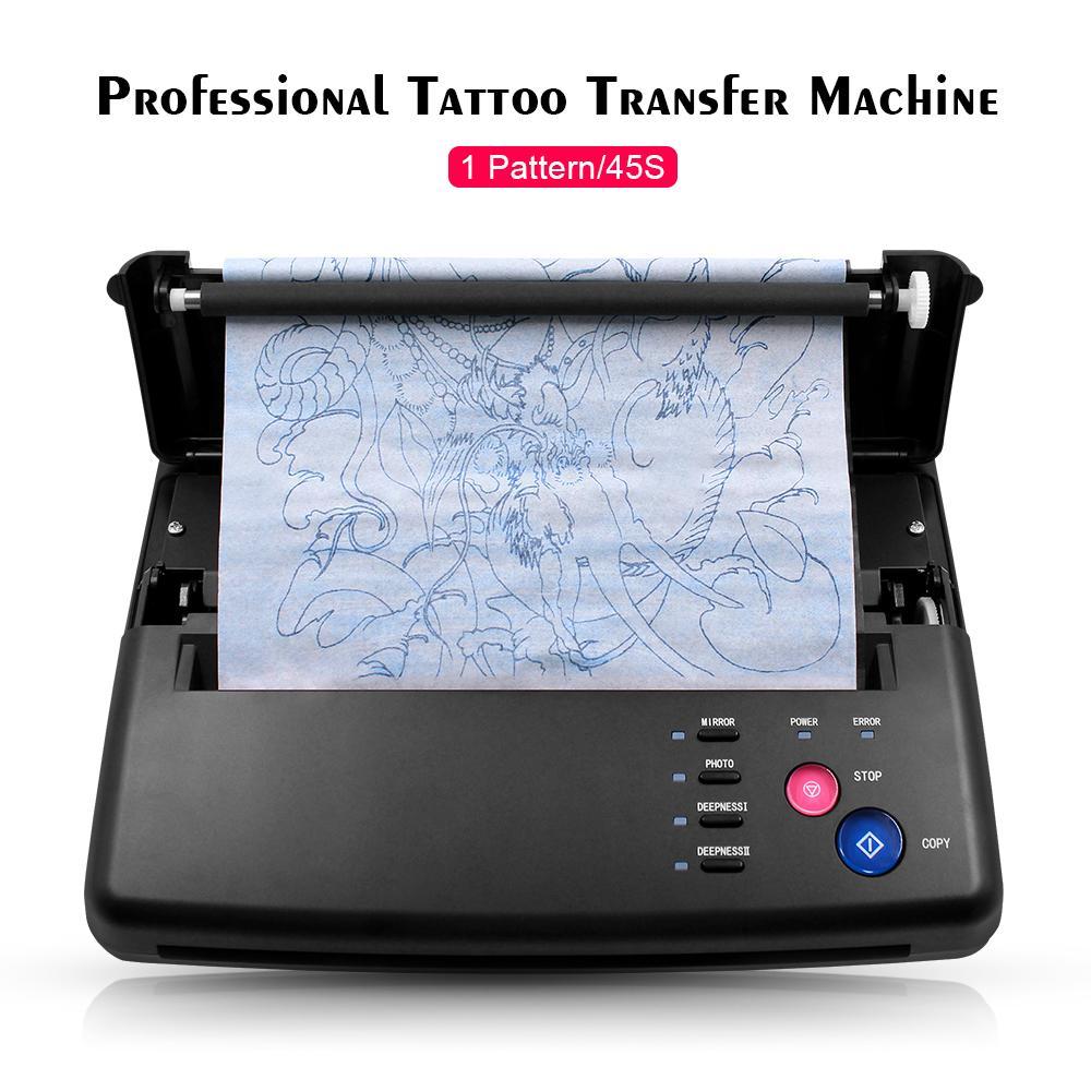 نقل جديدة الوشم آلة ناسخة الإستنسل جهاز الطابعة أدوات الرسم الحرارية الوشم نقل الصور ورقة نسخة الطباعة