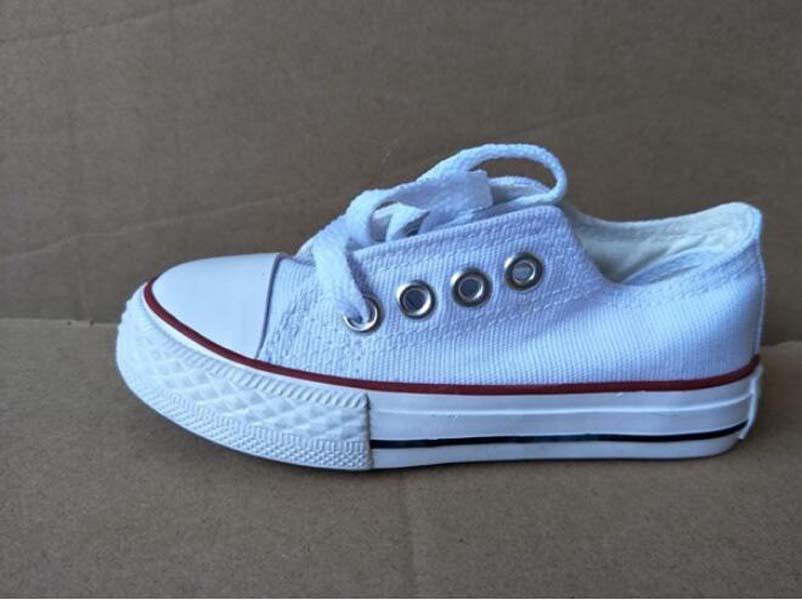 Heißer Verkauf 2021 Neue Kinder Leinwand Schuhe Mode Schuhe Jungen und Mädchen Sport Leinwand Kinder Schuhe Größe 23-34