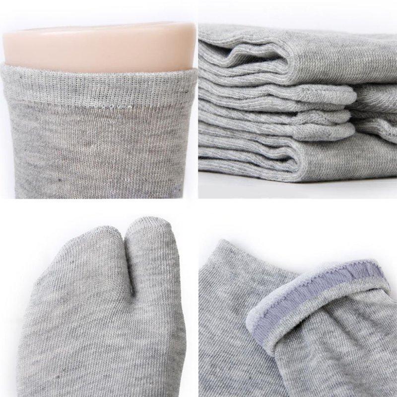 New One Pair Unisex Ninja Socks Japanese Style Kimono Flip Flop Slipper Sandal Split 2 Toe Tabi Foot Finger for Men Women