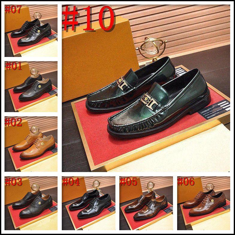 NOUVEAU Hommes Business Business Dress Chaussures En Cuir Véritable Chaussures Formelle Brogues Chaussures Luxe Hommes Moines Chaussures Double Boucle Oxfords Noir
