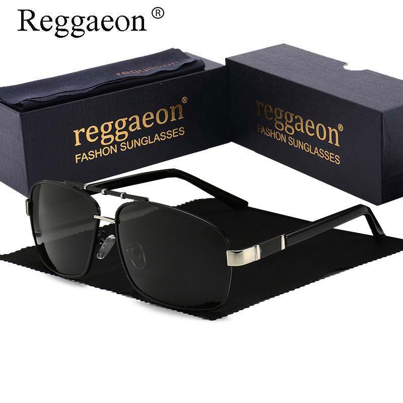 Солнцезащитные очки Reggaeon Дизайнер 2021 Поляризованные Вождение Мужчины Женщины Лучи UV400 Открытый Модные Солнцезащитные Очки Роскошные Очки
