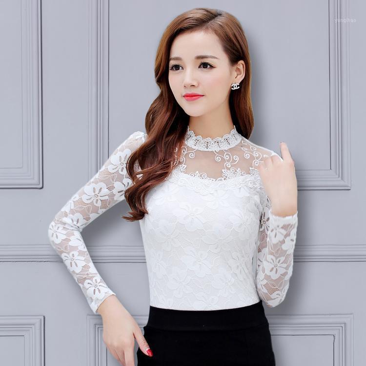 Мода женская рубашка 2020 плюс размер 5xL среднего возраста женские футболки мода сгущает удобное кружевное топ C471