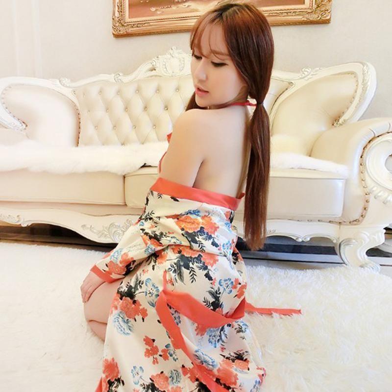 3шт набор цветок сексуальное женское женское белье набор ванна халат платье Babydoll ночная одежда ночная одежда набор ночной одежды 3 шт. Цветок H SQCZLN Gavpw