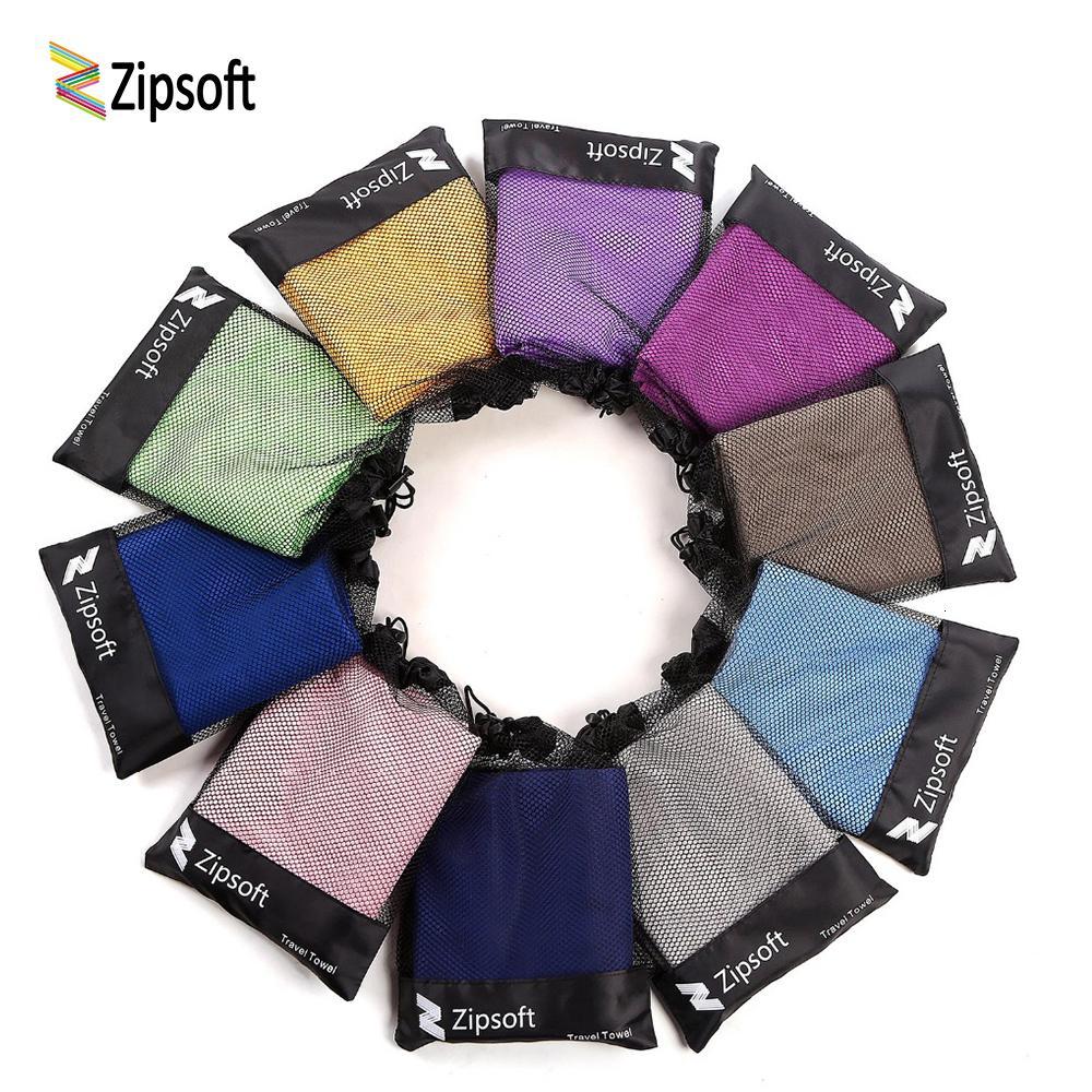Zipsoft Марка пляжное полотенце из микрофибры Ткань Путешествие на открытом воздухе Спорт Быстрое высыхание Плавание Кемпинг Ванна Yoga Mat Gym Рождество