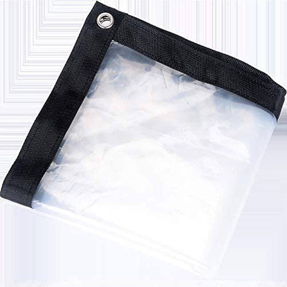 Очистить Водонепроницаемая крышка Тарп брезент лист, Сверхмощный пыле непромокаемый брезент, антивозрастной изоляции PE для кемпинга Рыбалка Садоводство