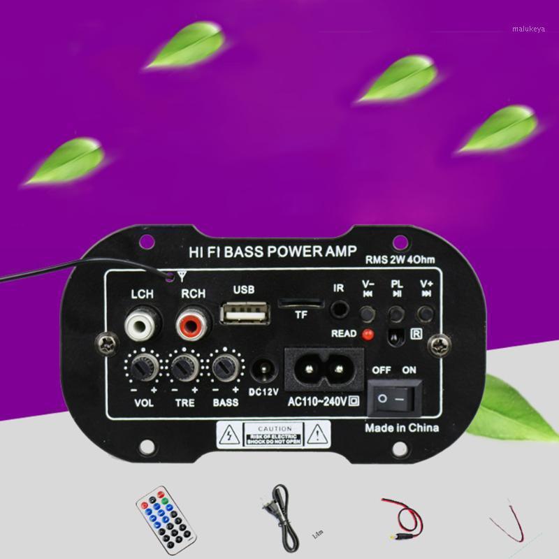 Subwoofer Stereo Auto USB TF Power Mini Auto Auto Radio Bluetooth Digital Telecomando Bass Audio Hi-Fi 2 DIN1
