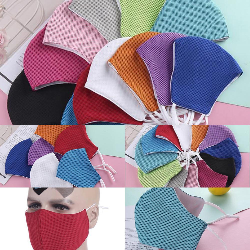 Couleurs Enfant Soie Neuf pour adultes et arrivée Summer Cool Ice Masques 12 Masque Cyclisme en plein air Masques Réglable Brew1