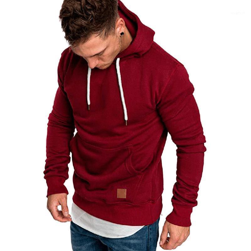 Mens Hoodies and Sweatshirts Hip Hop Clothing Cotton Pullover Hoodies Men 2019 Brand Male Long Sleeve Solid Men's Hoody 11421