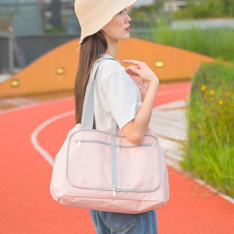Новый Сплошной цвет Складная дорожная сумка Портативный Камера Сумка Открытый Камера Сумка большой емкости для путешествий Настройка