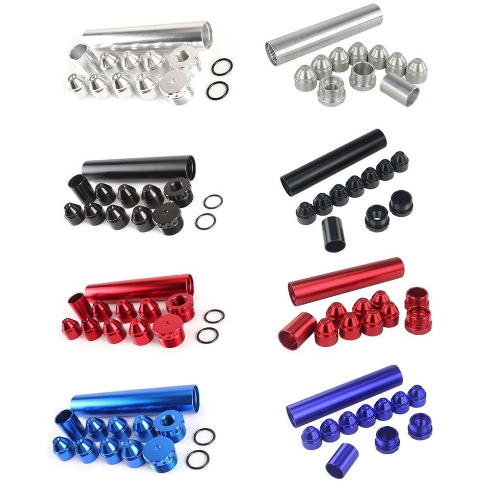 Neue 11 stücke Aluminiumwagen Kraftstofffilter Kraftstofffalle 1/2-28 5/8-24 Kraftstoffbrennstofffilter 1x6 Lösungsmittelfalle für NAPA 4003 WIX 24003