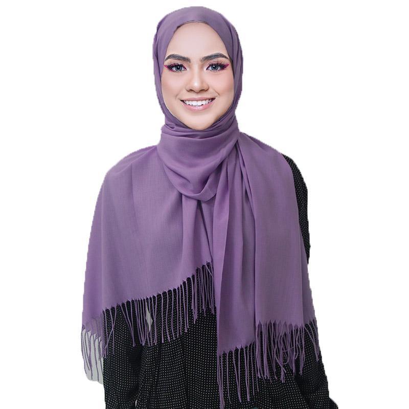 10 teile / los Neue Schals Für Frauen Tücher Und Wraps Dame Reine Lange Kaschmir Kopf Schal Hijabs Schal