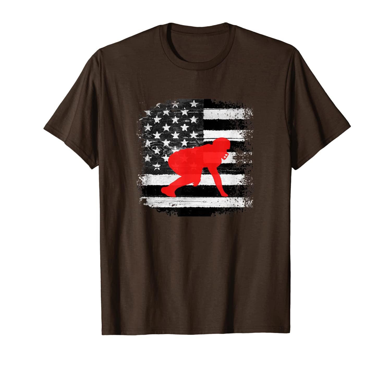 Great vintage Tshirt per un guardalineo   Camicia per uomo, ragazzi.