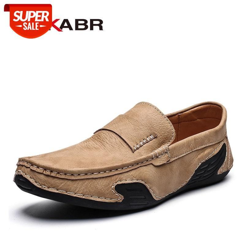 DekaBr Split Couro Homens Loafer Venda Quente Moda Sapatos de Condução Homens Respirável Sapatos Casuais Mocassins Calçado Plus Size 39 ~ 46 # BR4C