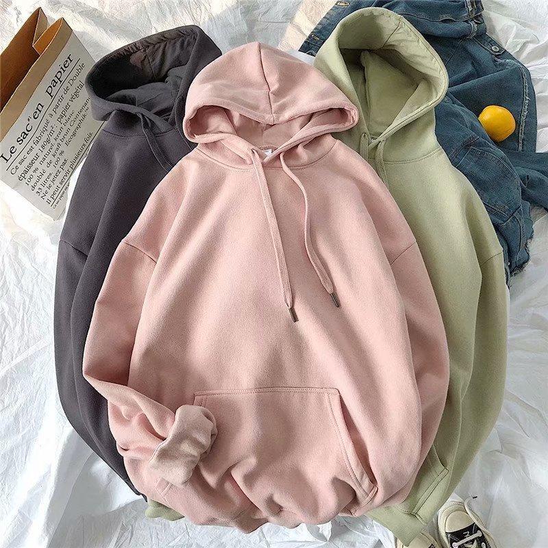 2020 novo moletom espesso, camisola de uma peça com tampa principal, primavera e outono moletom casual, disponível em muitas cores