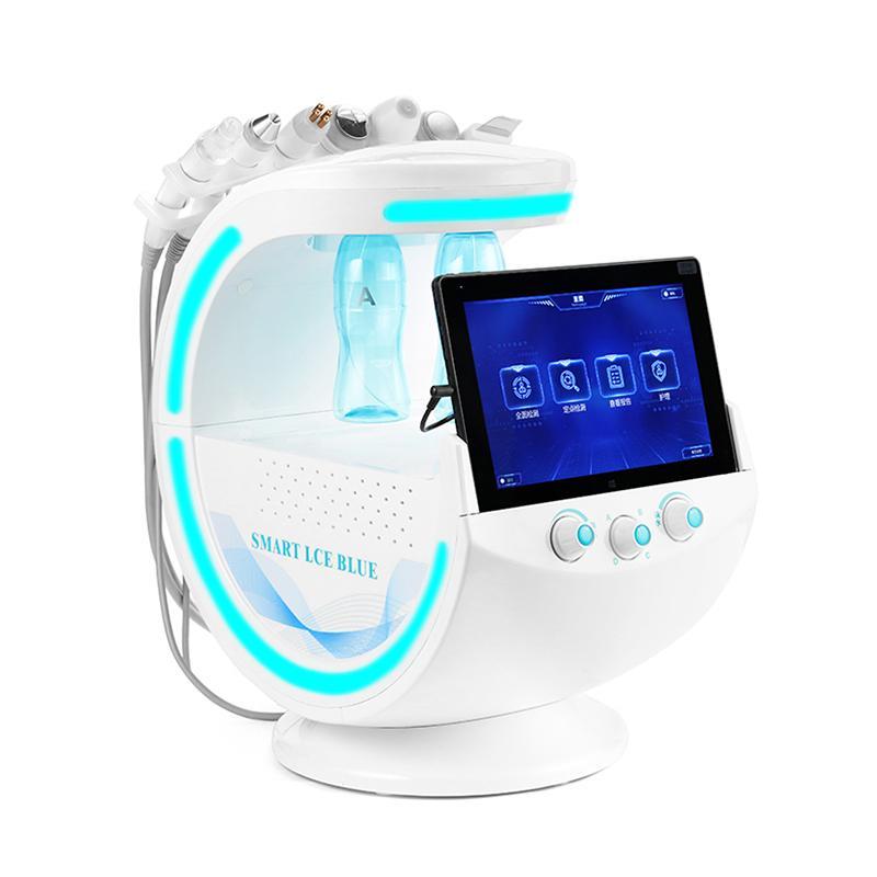 7 1 Hydrafacial Dermabrazyon Makinesi Su Oksijen Jet Peel Skin Srubber Hydra Yüz Güzellik Derin Temizleyici siyah nokta Remover RF Yüz Germe içinde