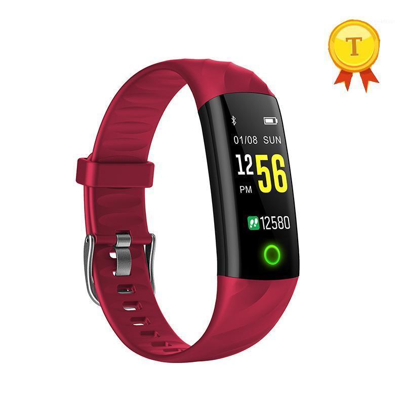 Smart pulseira pulseira colorida luz brilho bracelete pulseira de fastate rastreador ip68 ip68 impermeável pedômetro modo de natação banda1