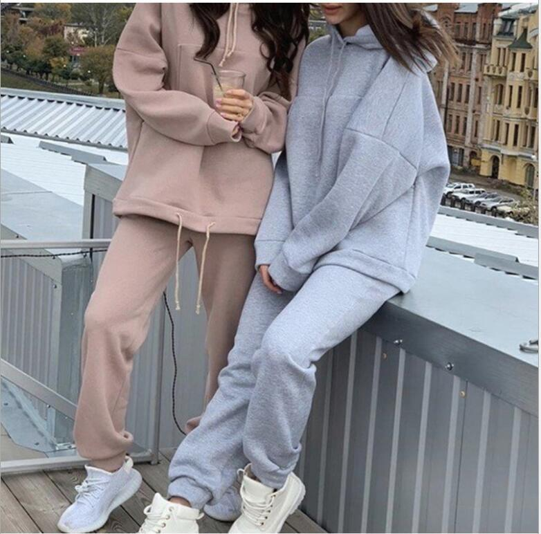 Designer Frauen Fitness Zwei Teile Set Trainingsanzug Langarm Crop Top Buchstaben Drucken Elastische dünne Leggings Sportswear Slim Outfit