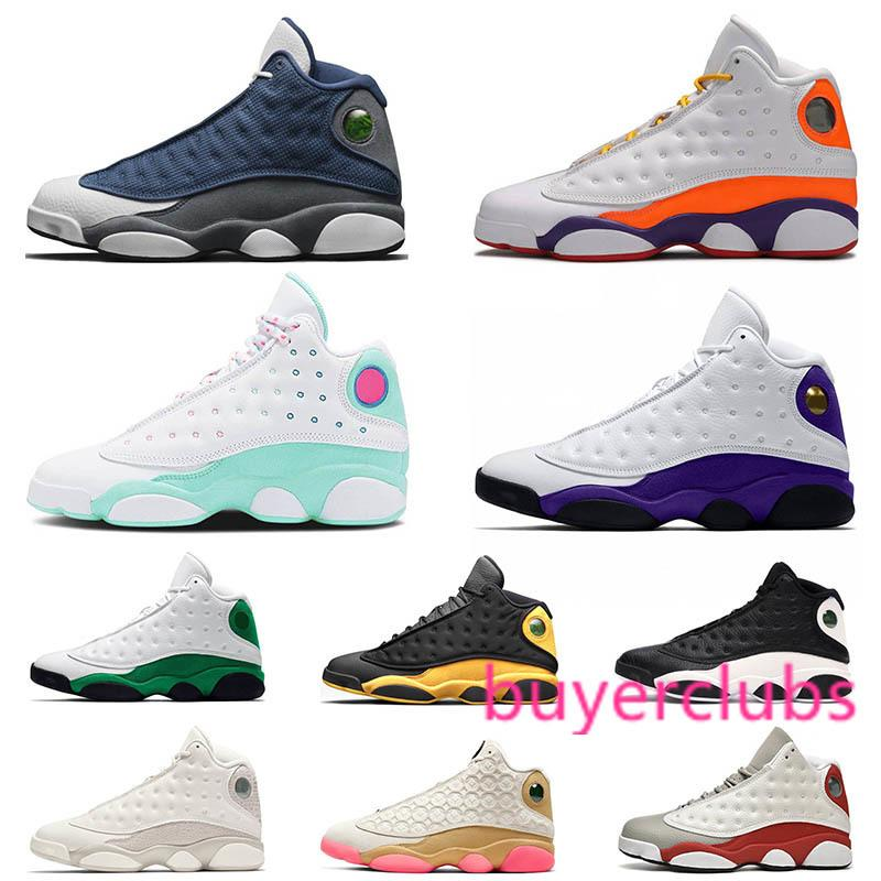 Pas cher Jumpman 13 13s Chaussures de basket-ball Flint Playground Green Island Chicago Formateurs Hommes Sports Athlétiques Sneakers Taille 36-47