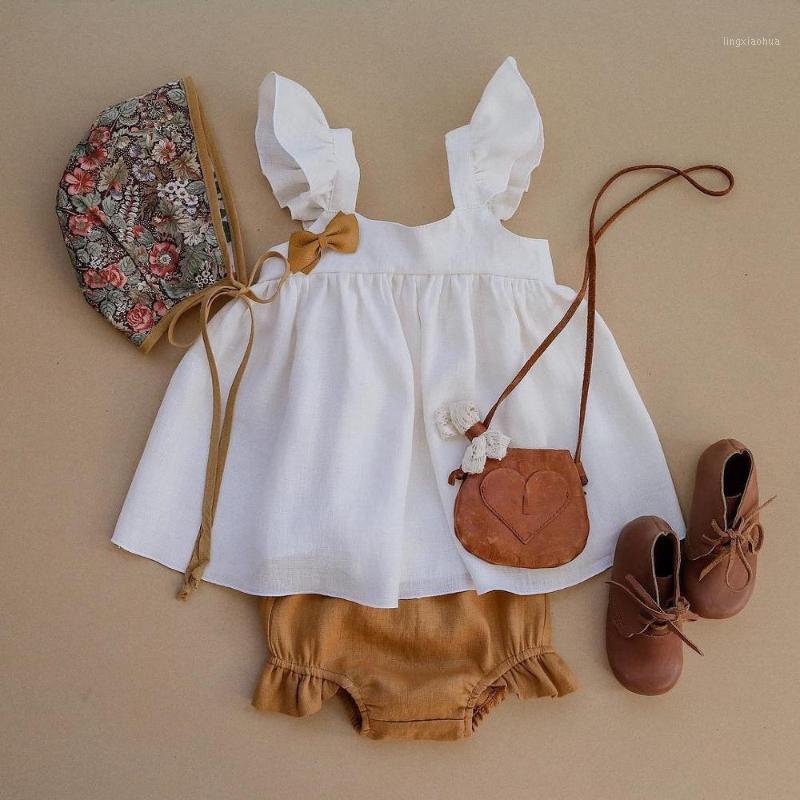 Bébé fille robe printemps été 100% coton biologique draps mignon nouveau-né robe d'anniversaire pour enfant pour filles bébé fille vêtements ensemble1