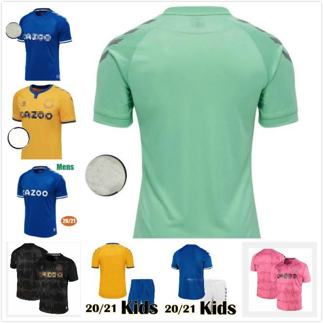 2020 2021 JAMES Soccer Jersey KEANE RICHARLISON SIGURDSSON Football Shirts 20 21 Homme Enfant Football Jersey Kits DIGNE CALVERT LEWIN camesita