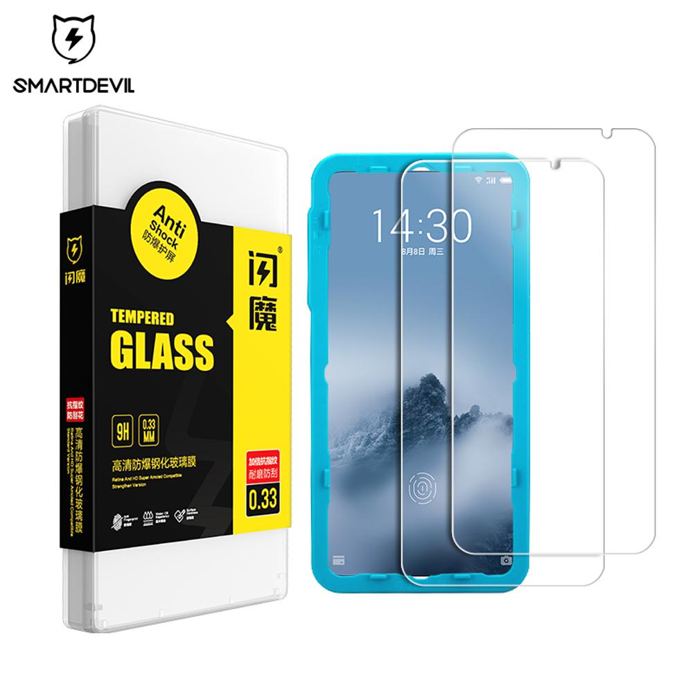 Meizu XMHWX Protector 9 для 16-го стекла X8 Mobile MX6 экран SmartDevil Note Plus 8 фильма закаленного закаленного анти-отпечатков пальцев телефон FGUBK