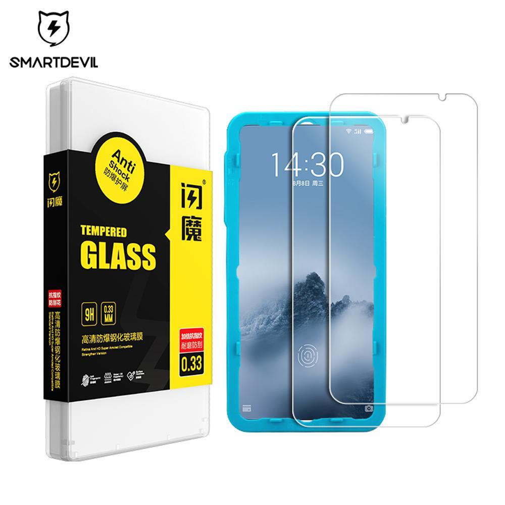 Мобильный экран 16-й xmhwx для примечания стекло 9 Телефон Закаленный X8 Антиперинг-отпечатков пальца Meizu MX6 8 PLINE PROTECTECTECT HECKEND SMARTDEVIL PLUS NQVOA