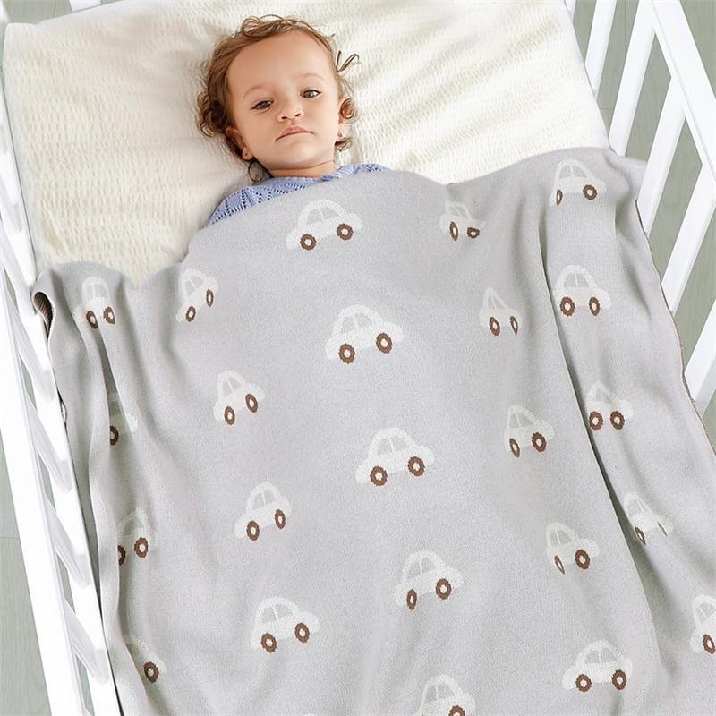 Детские одеяла Newborn Swaddling коляска с кроватью вязаные хлопчатобумажные ежемесячные малыши одеяло вещи для фиксации kibertor infantil обертываются детские одеяла 201110