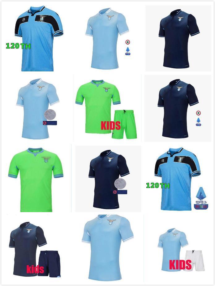 Rétro Gascoiigne 20 -21 120e Jersey Soccer 120 Anniversaires Kit 20 - 21 Immobile Luis Bastos Alberto Sergej Chemise de football