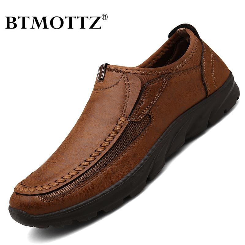 Mann-beiläufige Schuh-Marken-2020-Mode-Männer Loafers Mokassins breathable Beleg auf Retro Driving Schuhe Herren Sneakers Plus Size 39-48 201109