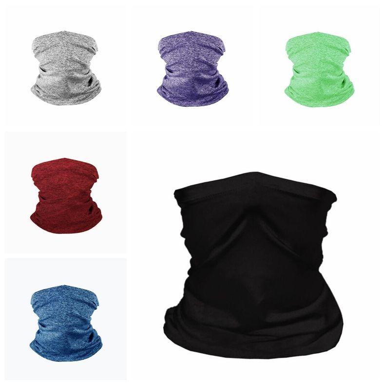 Schal Radfahren Nahtlose Masken Schutzmaske Multifunktionstuch im Freien Kopf Scarve Magie Filter Designer Masken FWB2889