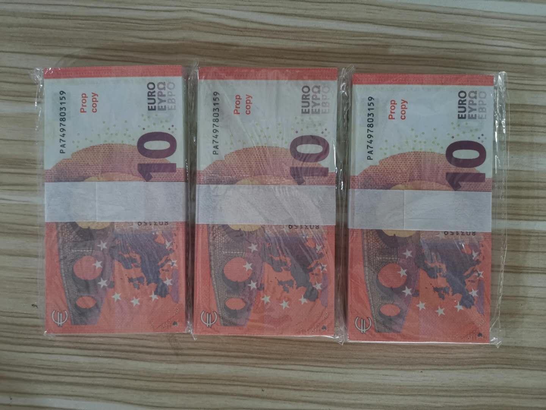 005 10 Euro Bar Реквизит валюты фильм Prop Поддельные деньги Горячие продаж продукта Сбор Праздничное партии Supplies Joke Подарки