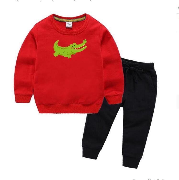 Bambino maglione abbigliamento set abbigliamento per bambini autunno e inverno nuovo modello maschio ragazza maglione vestito per bambini 2-8 anni giacca cappotto shirtset