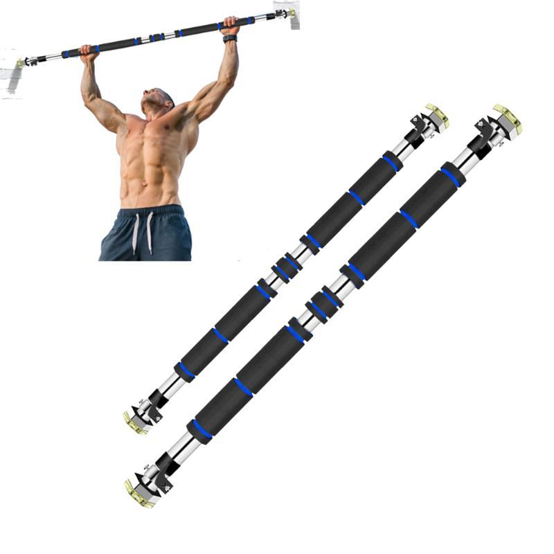 200kg Door Horizontal Bars 100-150cm Steel Adjustable Training For Home Gym Workout Sport Fitness Sit-ups Pull Up Bar Equipment