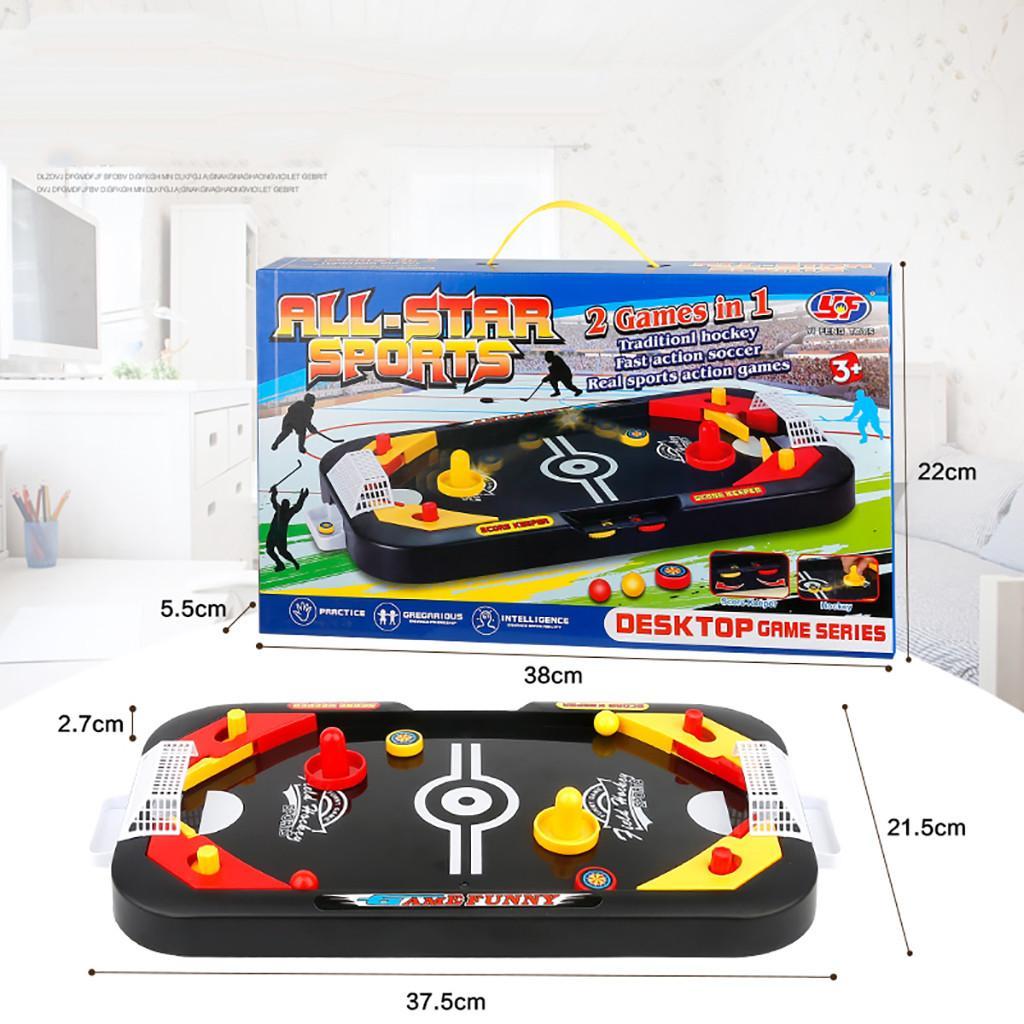 Мини-хоккей Настольная игра для детей Футбол Ice Desktop Интерактивные игрушки антистресс Забавный Gadgets Family Party игрушки для детей подарков