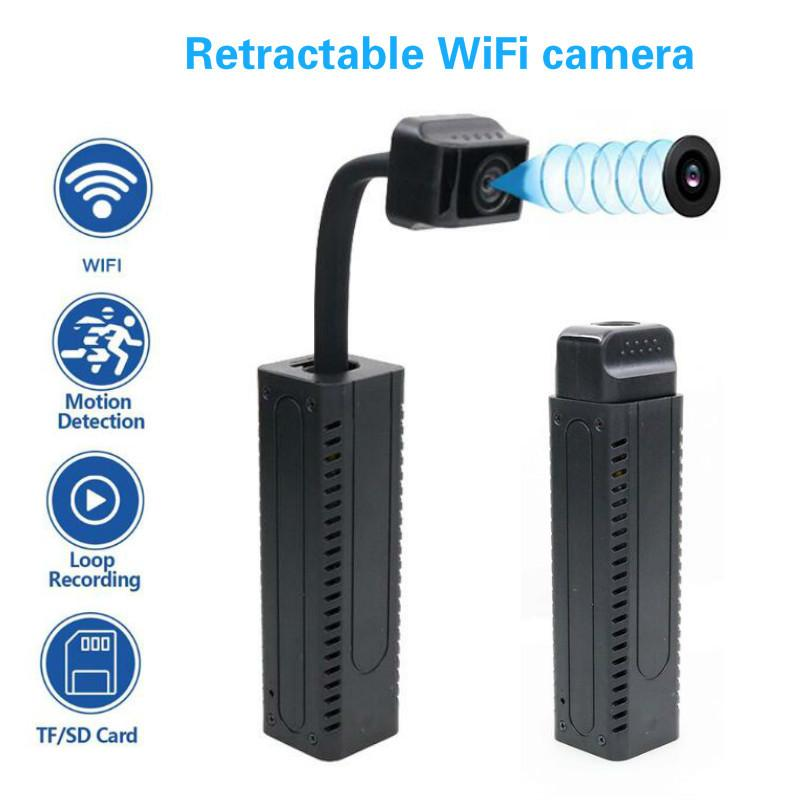 HD 4K DIY Portable WiFi IP Mini Camera P2P Wireless Micro webcam Camcorder Video Recorder Night vision Remote View support 128G