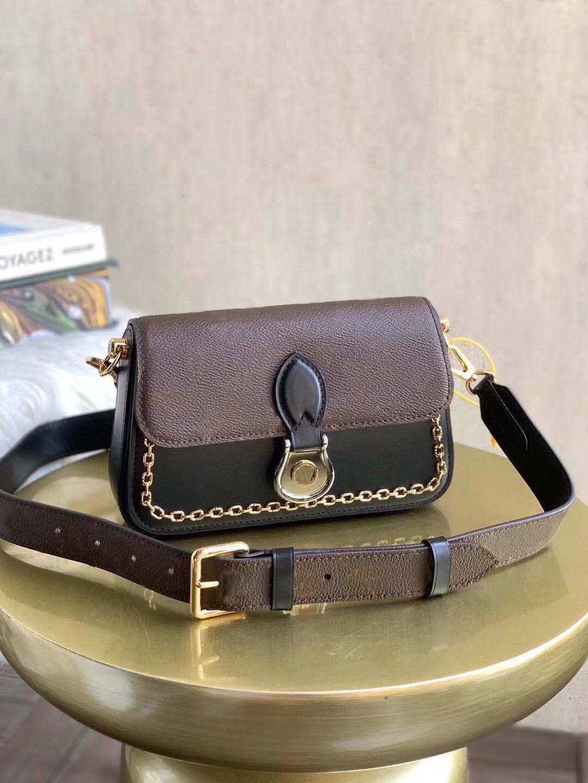 Nova Moda Feminina Chain Bolsas Totes Messenger Saco de Alta Qualidade Ladies de Couro Mini Bolsa Sacos de Embreagem Carteira Senhora Saco De Ombro com Caixa