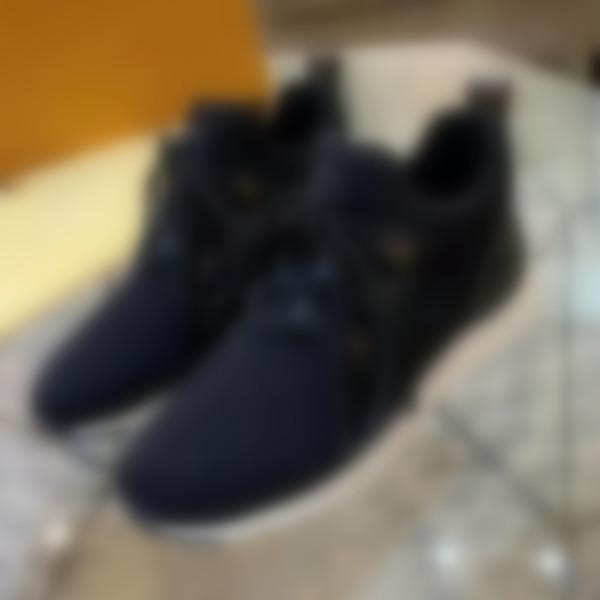 Louis Vuitton Nuevo llegan TIME OUT las zapatillas de deporte de las mujeres zapatos de lujo de diseño en los zapatos de mujer zapatos ocasionales del tamaño 35-41 Modelo zx03