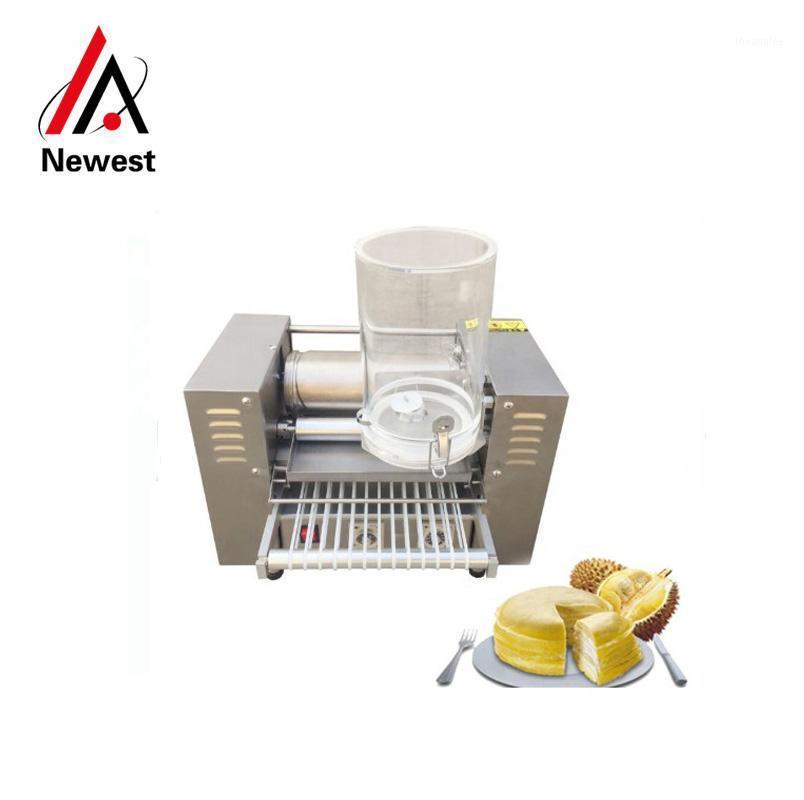 Mousse thousand layer cake making machine chesse crepe cake machine1