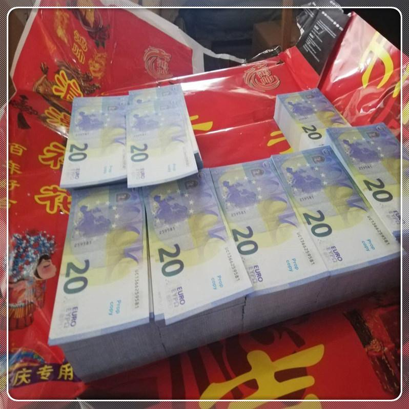 20 Hot Prop Toy Le20-42 Scatto Banconota con contraffazione Banconota Atmosfera contraffatta Euro Stage Party MV Copia bar LKDUL TLVPU