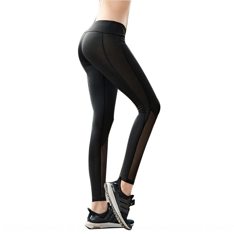 Z5YOU 2020 women's high pants yoga pantswaist dry fast mesh high elastic tight Fitness Yoga Pants SY3yr