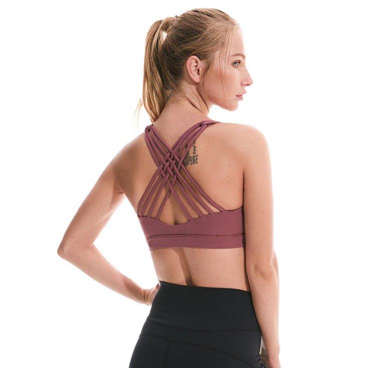 Camisola Tanques Yogaworld Mulheres Underwears ioga Exercício Underwear Exterior Executando Improvação Rápida Secagem Rápida Sutiã Elástico Bra Fitness Sports