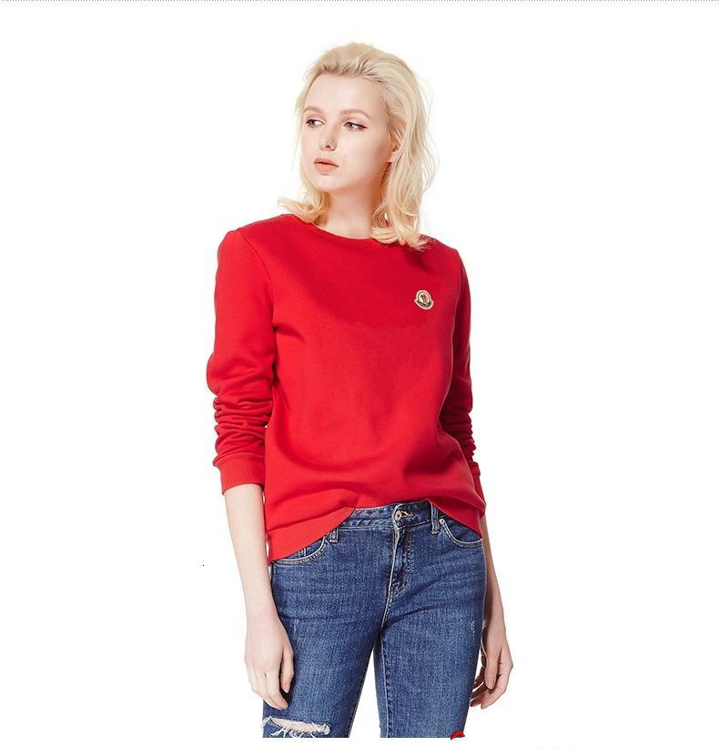 MCL - Yüksek Kalite Yeni Orjinal Marka Kapüşonlular Kadınlar Moda Tişörtü% 100 Pamuk Kadın Hoodie Ceket