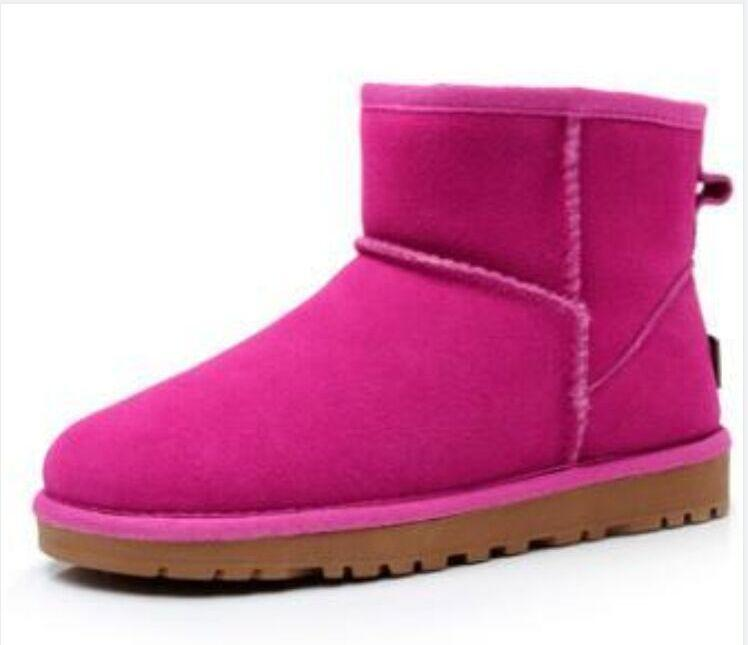 2021 Classico WGG lana Furry Furry 5854 donna piattaforma womens boot lady inverno stivali da neve mezzo ginocchio scatole